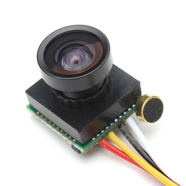 600TVL 1/4 1.8mm CMOS FPV 170 Degree Wide Angle Lens Camera PAL/NTSC 3.7-5V for RC Drone FPV Racing