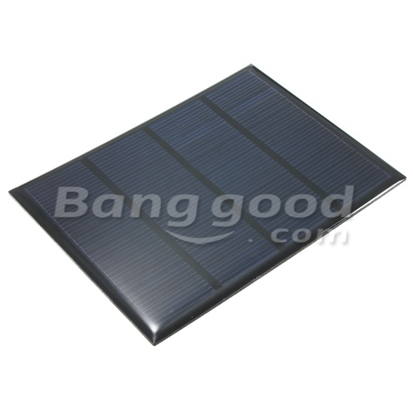 12V 100mA 1.5W Polycrystalline Mini Epoxy Solar Panel Photovoltaic Panel