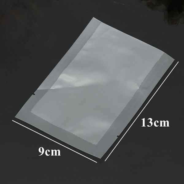 9X13mm Thickened Clear Flat Heat Sealed Vacuum Plastic Bag Food Storage