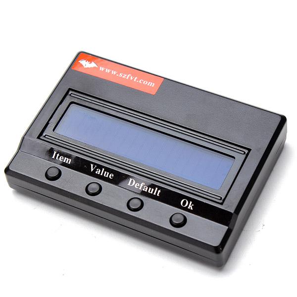 RC Car LCD Display Program Card For FVT Series Car Brushless ESC