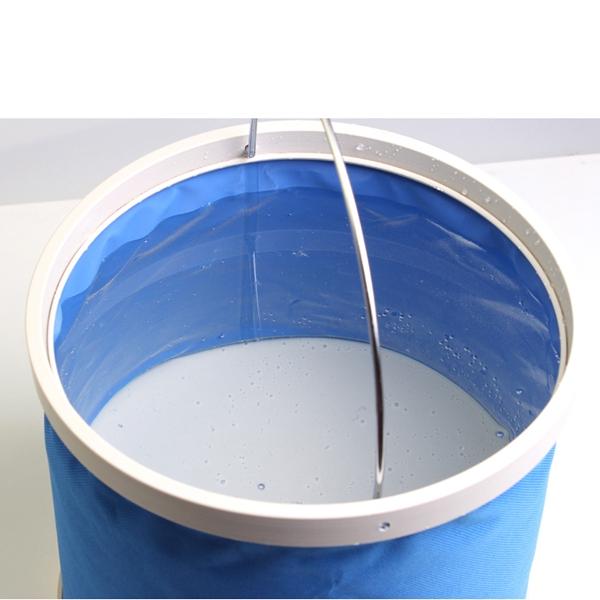 9L Holding Bucket Multifunctional Portable Bucket Car Washing Bucket Oxford Cloth Bucket