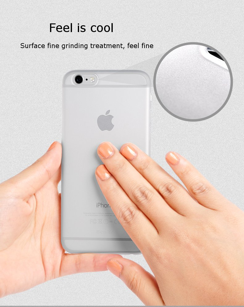 Benks Slim Simple Matte Hard Shell Protective Sleeve For iPhone6 Plus 5.5