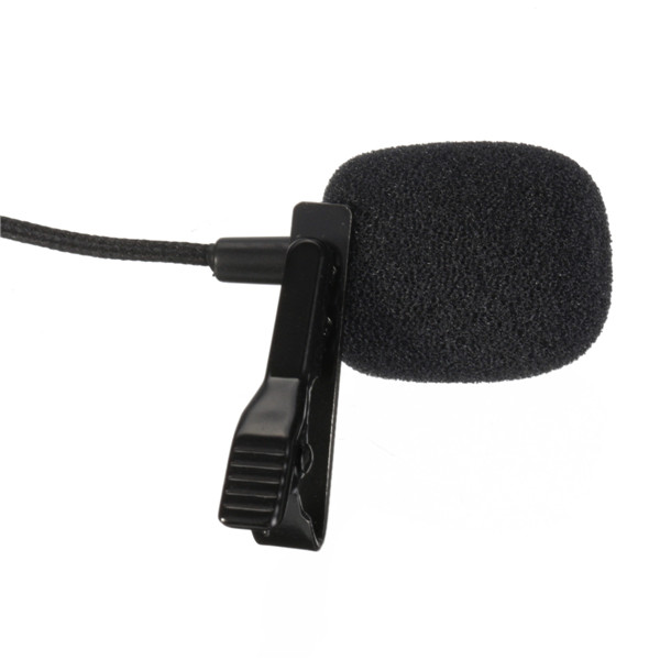 Profession Mini USB External Microphone With Collar Lapel Clip For GoPro Hero 3 3 Plus 4
