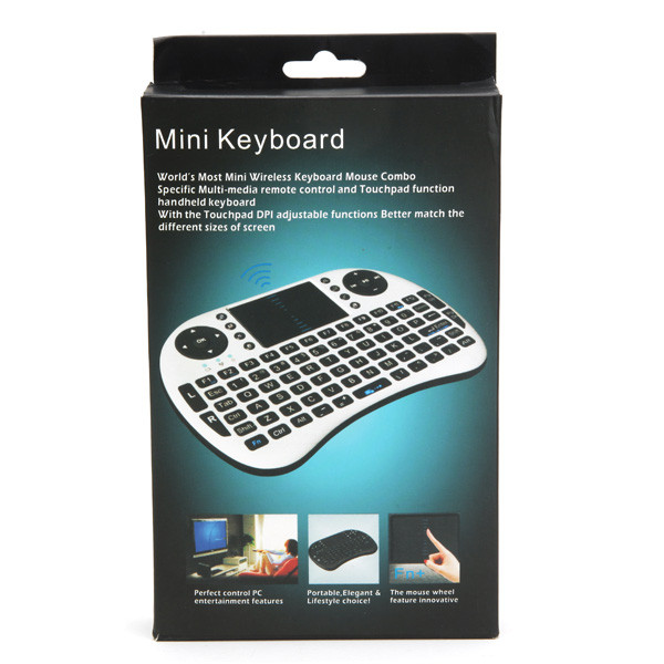 iPazzPort Russian 2.4GHz Keyboard Remote Control Fly Air Mouse For PC Tablet TV Box