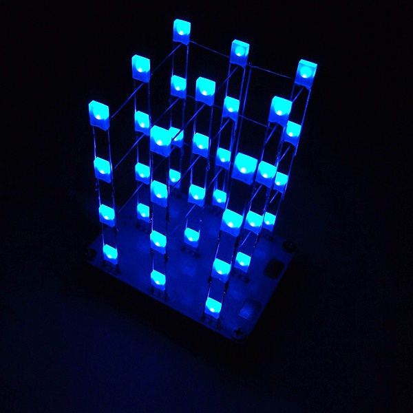 Geekcreit® DIY C51 Touch Control 3x3x4 Color LED Light Cube Kit