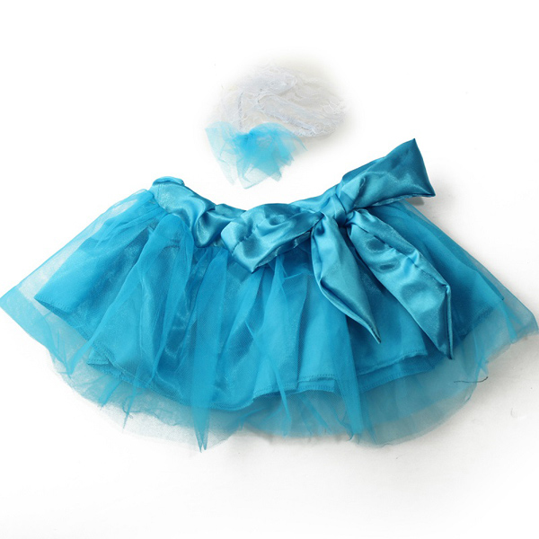 Baby Flower Tutu Skirt Headbrand Prop Outfi Photography Princess Costume Clothing Set