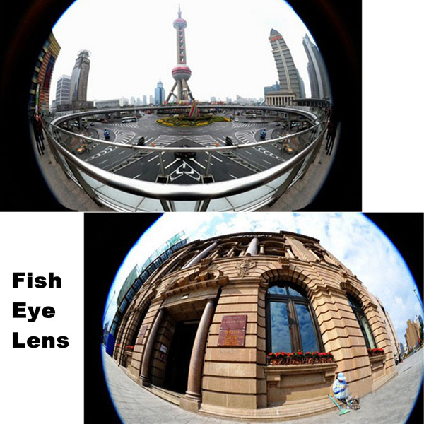 3 in1 Fisheye Wide Angle Macro Clip Lens Kit For Iphone Samsung Sony LG HTC