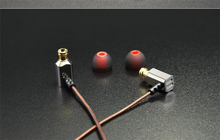 KZ ED9 In-ear HiFi Heavy Bass Metal Ear Plugs Headphone Earphone Without Microphone