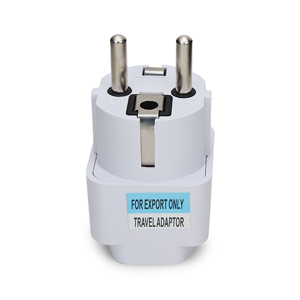 Universal AU US UK to EU Europe Plug AC 250V Power Travel Adapter