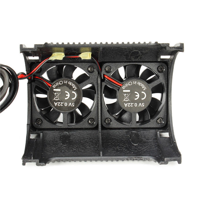SKYRC Twin Brushless Motor Radiator Cooling Fan with Housing