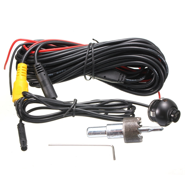 HD 360 Degree CCD Car Auto Rear View Camera Reversing Backup Parking Waterproof Cam Universal