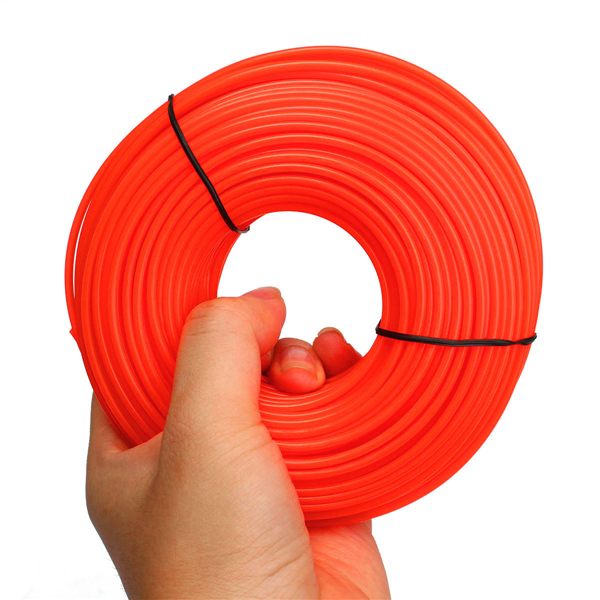 45m Flexible Nylon Trimmer Line Rope For Most Petrol Strimmers Machine
