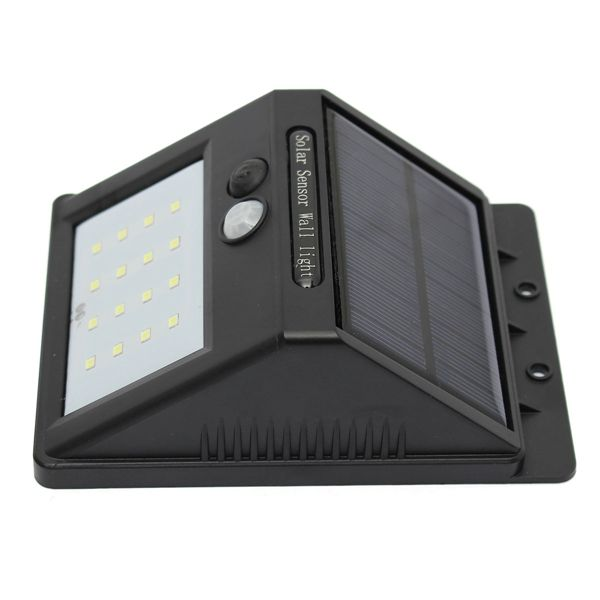 Solar Power 16 LED Super Bright Motion Sensor LED Waterproof Wireless Security Light