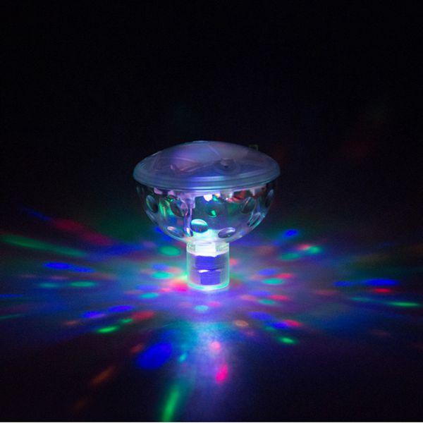 Floating Underwater LED Disco AquaGlow Light Show Swimming Pool Hot Tub Spa Lamp