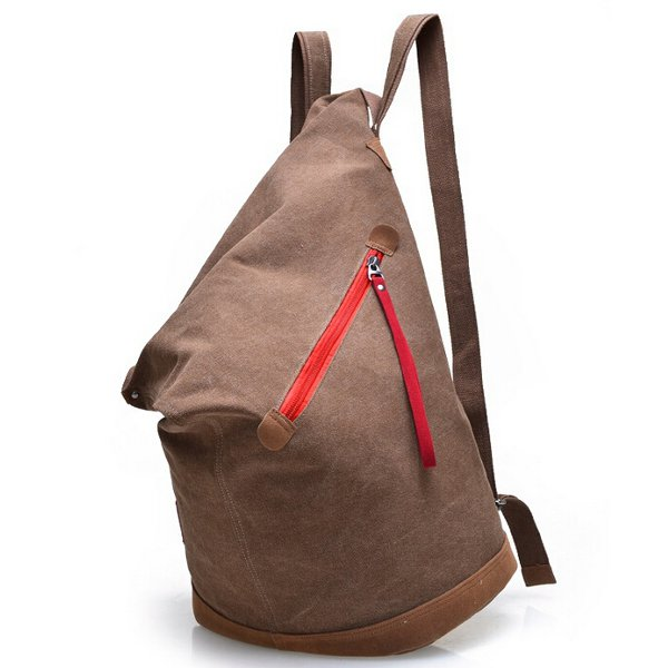 Men And Women Canvas Backpack Casual Outdoor Backpack Students Book Bags Rucksack