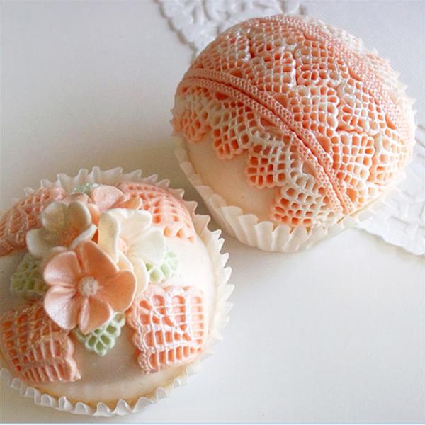 3D Silicone Lace Fondant Cake Chocolate Mold Mould DIY Cake Decoration