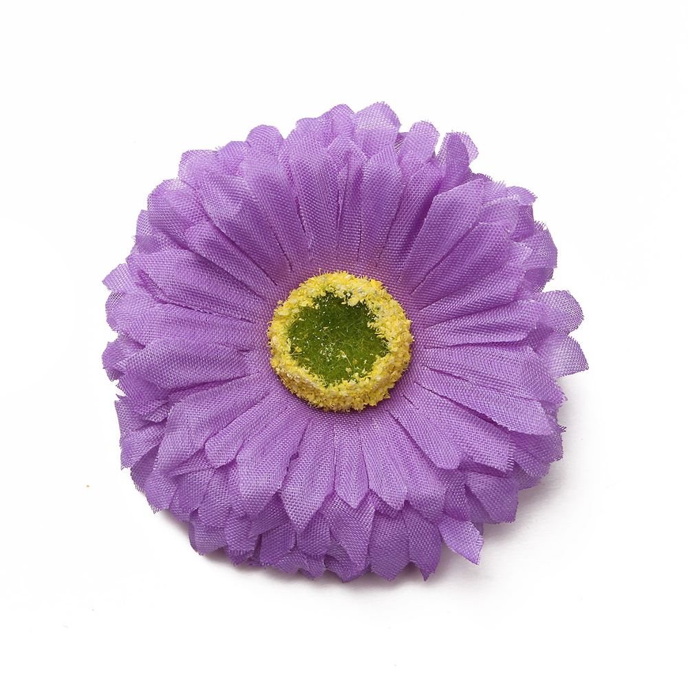 Women Lady Bohemia Artificial Chrysanthemum Flower Hair Clip Beachwear Bag Hat Decoration