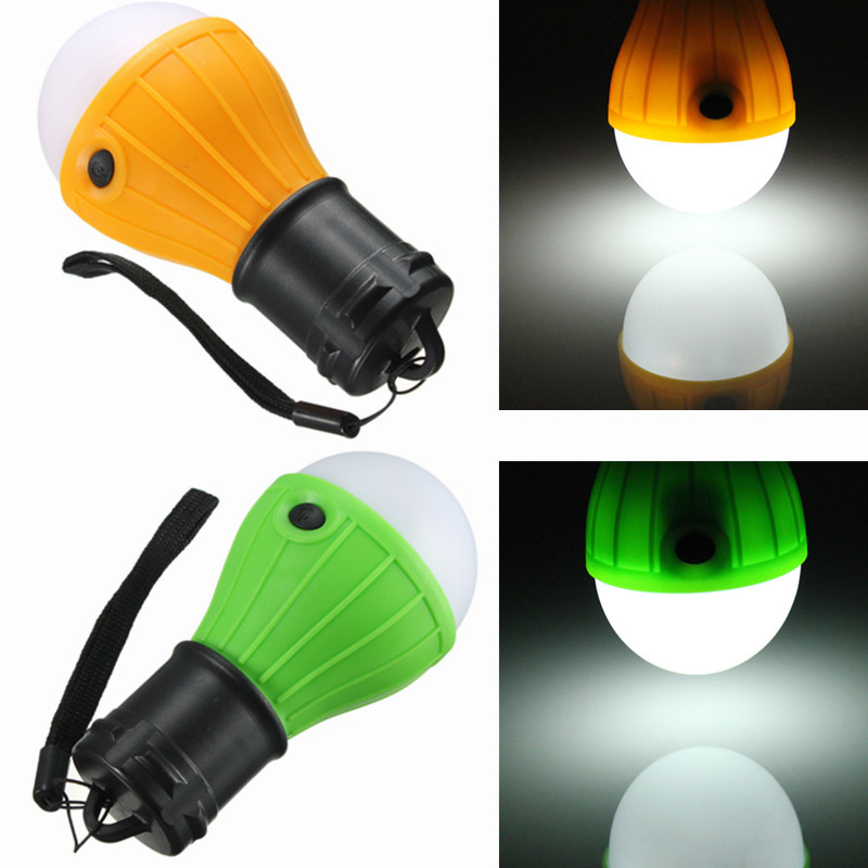 Camping Light Bulb LED Hanging Tent Lamp Super Bright L
