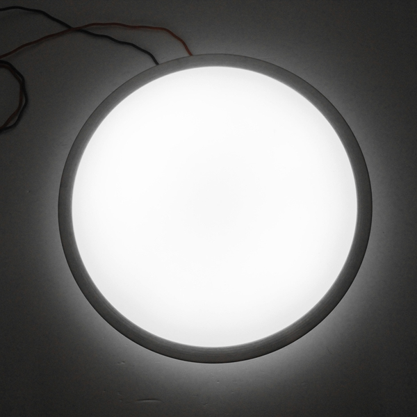 Modern 18W Round LED Flush Mounted Ceiling Down Light Wall Kitchen Bathroom Lamp