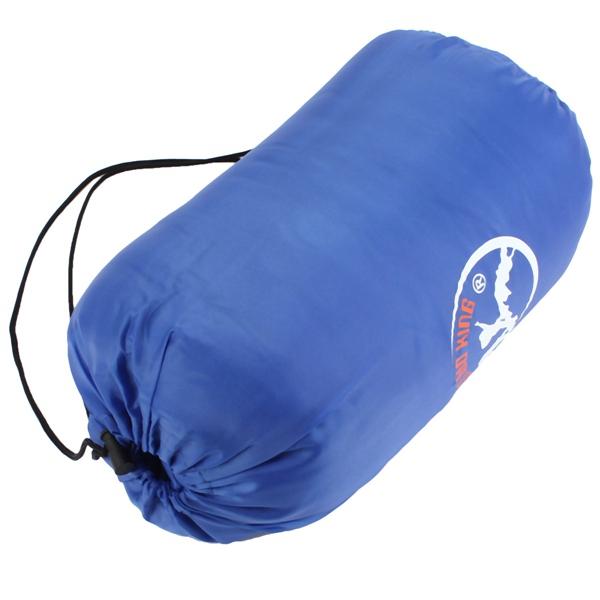 Outdoor Single Adult Envelope Sleeping Bag Caravan Warm Camping Hiking