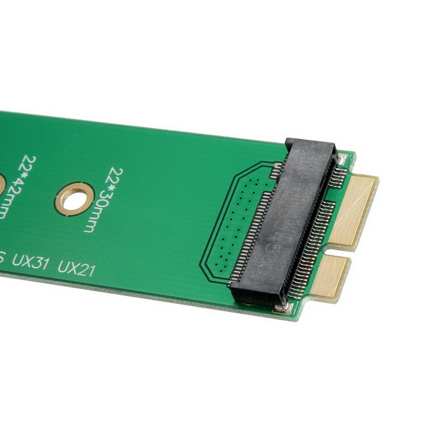M.2/NGFF SSD To 18Pin Adapter Card for ASUS UX31 UX21 Zenbook 128G 256G SSD Hard Drive Converter