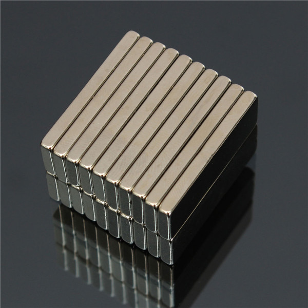 20pcs N50 30x10x3mm Super Strong Block Cuboid Magnets Rare Earth Neodymium Magnets