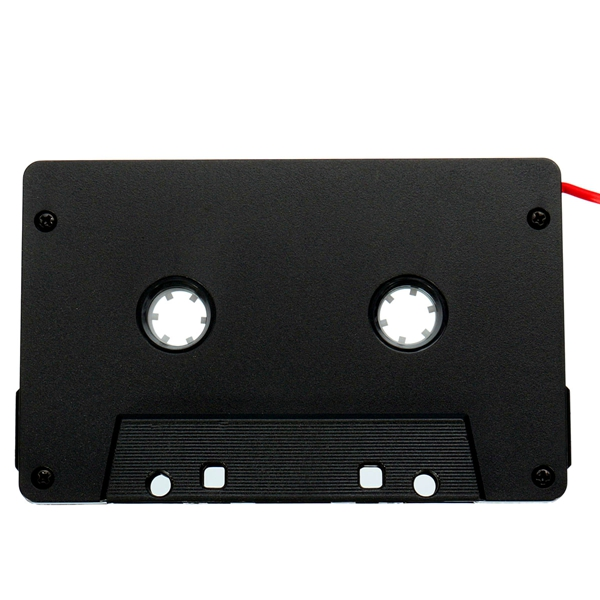 Car Audio Tape Cassette Adapter for Mobile Phone MP3 CD Radio 3.5MM Jack AUX