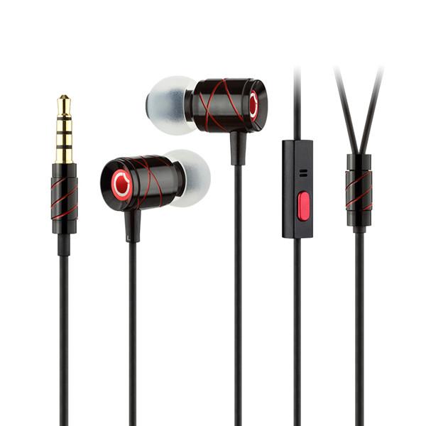 GGMM EJ-201 Universal In-ear Wire Control HiFi Earphone