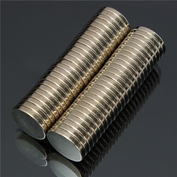 50pcs N52 Super Strong Disc Magnets 20mm x 3mm Rare-Earth Neodymium Magnets