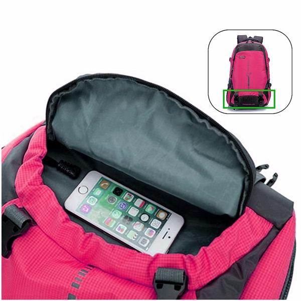 Outdoor Hiking Bag Travel Backpack Schoolbag Bookbag Rucksack Shoulder Bag 45L