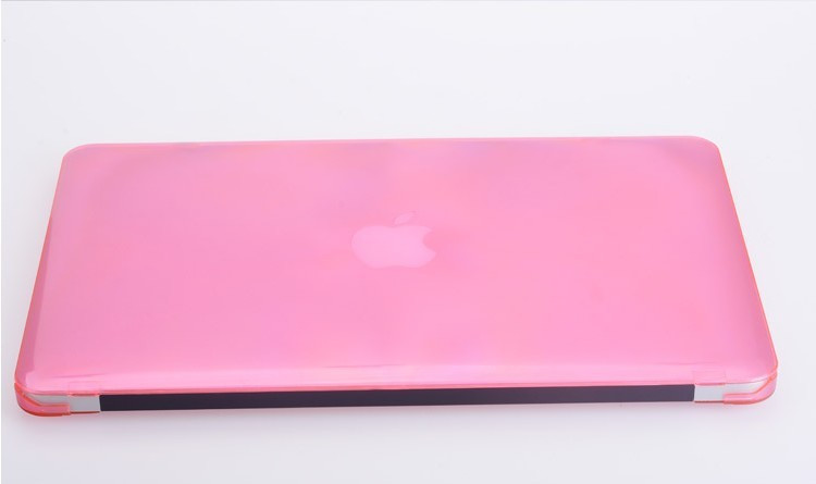 Fashionable Slim Plastic Hard Cover Crystal Case For Apple MacBook Pro 15.4 Inch