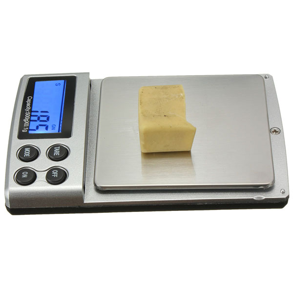 500g 0.1g LCD Electronic Digital Mini Pocket Scale Jewelry Weight Balance Scale