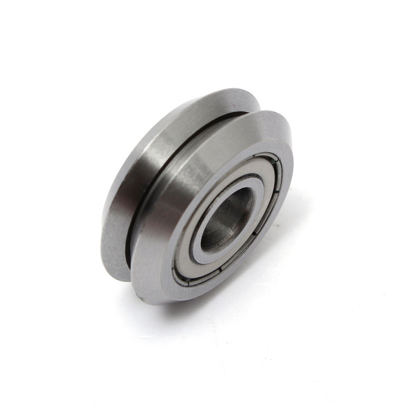 W2 9.525x30.73x11.1mm Bore Line Track Roller Bearing Steel Track Guide Roller Bearing Ball Bearing