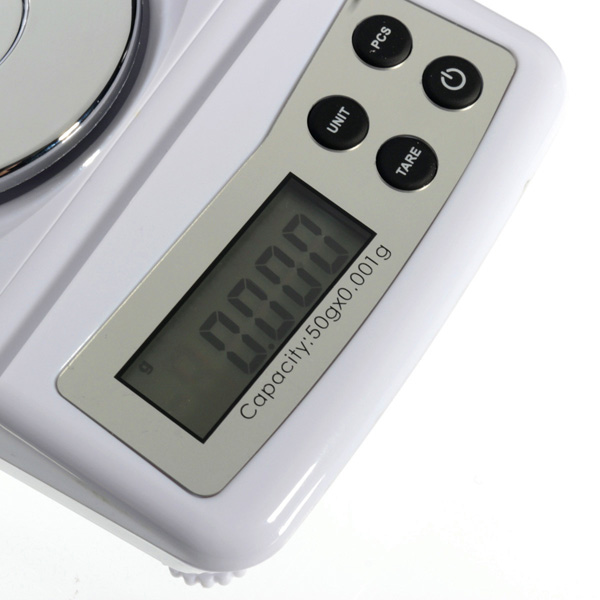 High Precision 50g 0.001g Electronic Digital Scale Jewellery Balance Gram Scales