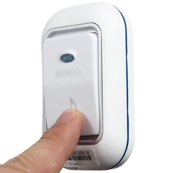 Zogin 16 Songs Wireless Digital Doorbell Music Chime Alarm Waterproof Home Security