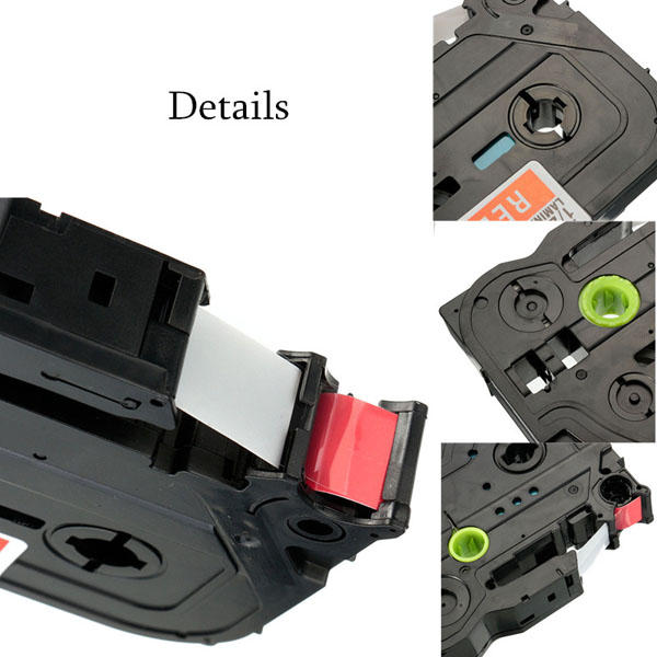 12MM Compatible for Brother P-touch PT1005 Tz Tze Label Tape Printer Ribbon Type Belt