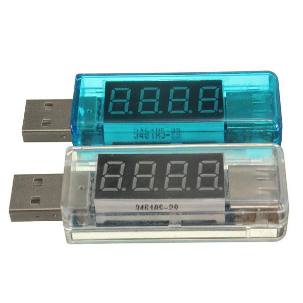 DC 3-7.5V 0-5A V2.0 USB Voltage Current Meter Detector Charger