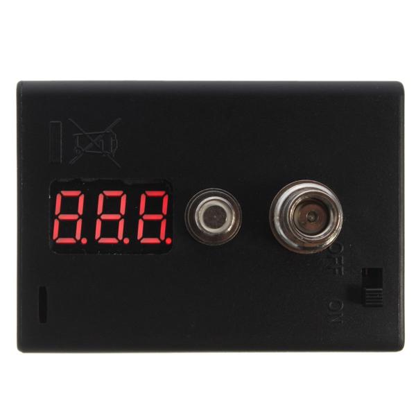 Resistance Measuring Reader Ohm Meter Volt Meterr Coil Tester Vaporizer Atomizer Coil Tester