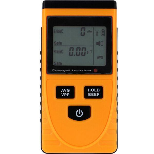 GM3120 Electric Magnetic Radiation Detector Tester Phone PC Home Equitment Radiation Monitoring with Lcd Display
