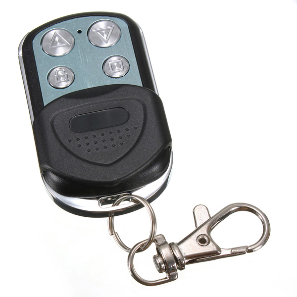 4 button electric garage gate door remote control key fob cloning 433.92mhz