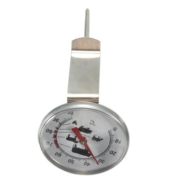 Stainless Steel Pocket Probe Thermometer Gauge Food Thermometer