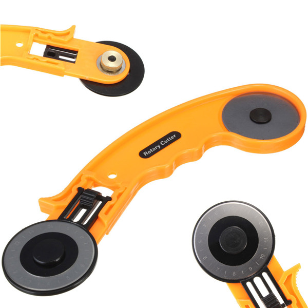45mm Rotary Cutter Circular Fabric Cutting Leather Craft Tool