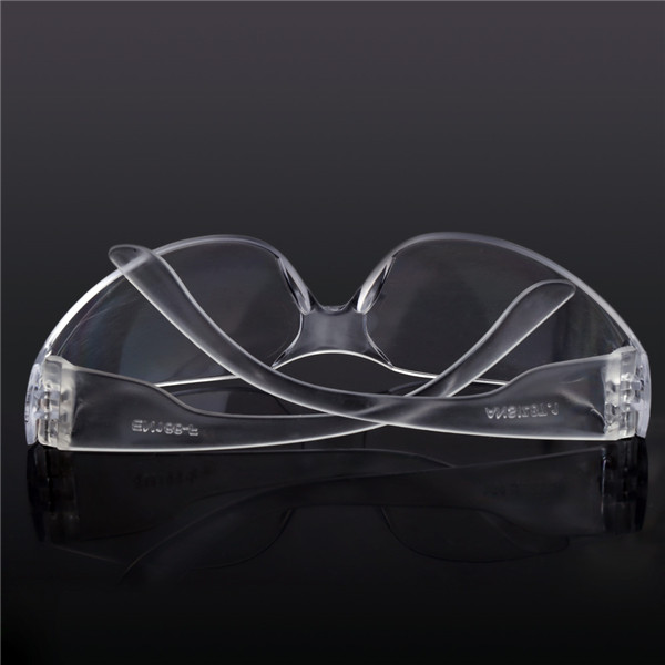 Workplace Safety Goggles Eyes Clear Protective Glasses Dust Anti Fog