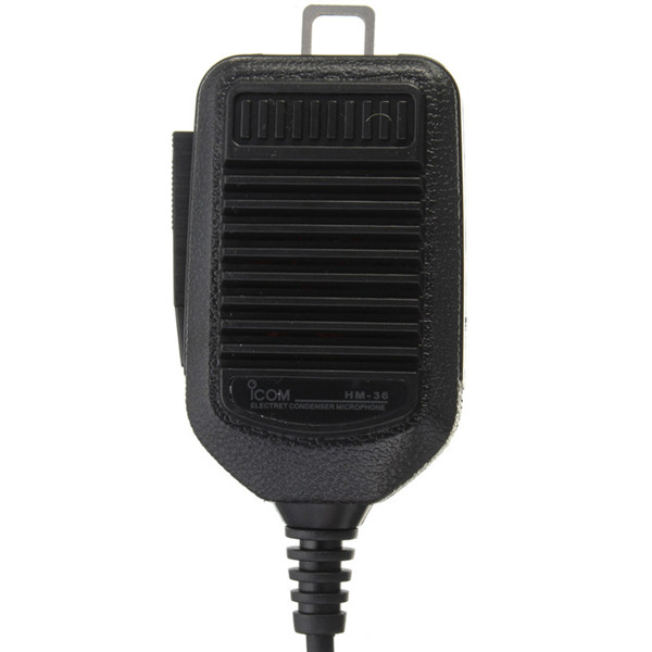 Hand Microphone 8Pin for ICOM HM36 HM-36/28 IC-718 IC-775 IC-7200/7600I with Track