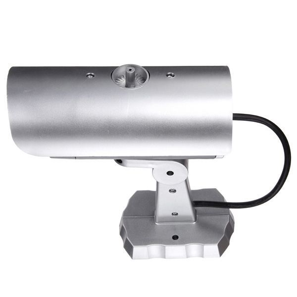 1900 Dummy IR Simulation Fake Camera Home Surveillance Security with Light LED Flashing