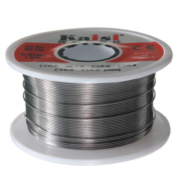 60/40 0.6mm Tin Lead Rosin Core Flux Solder Soldering Welding Iron Wire Reel