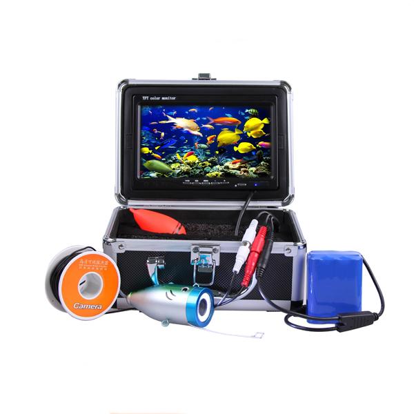 CR110-7L 900TVL 15M Under Water HD Video Camera Fish Finder Moniting 7 Inch TFT Screen