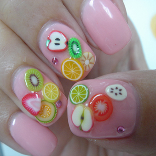 12 Style Flower Fruit Slice Nail Art Tips Decoration Us269 Sold Out