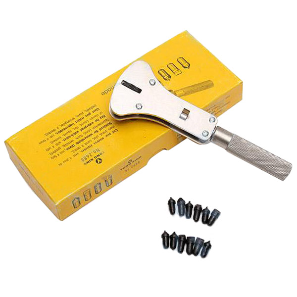 Professional Watch Case Opener Repair Tool Wrench Kit