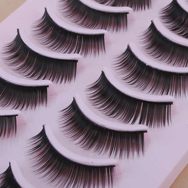 10 Pairs Fancy Fashion False Eyelash